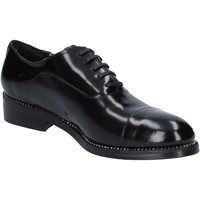 Shoes Women Derby Shoes Reve D'un Jour REVE elegant shiny leather BZ465 Black