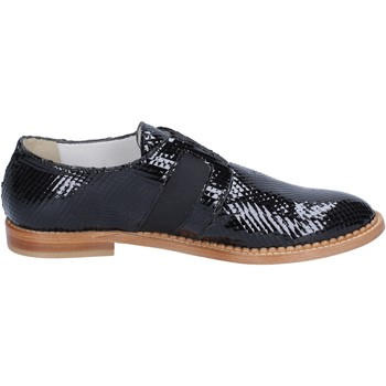 Shoes Women Derby Shoes & Brogues Arnold Churgin elegant patent leather BT955 Black