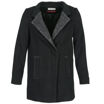 Clothing Women Coats Naf Naf ALEXIA Black