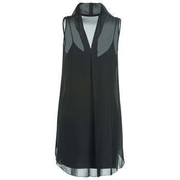 Clothing Women Short Dresses Naf Naf E-LALY Black
