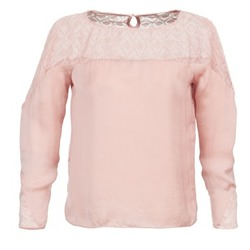 Clothing Women Tops / Blouses Naf Naf KIKI Pink