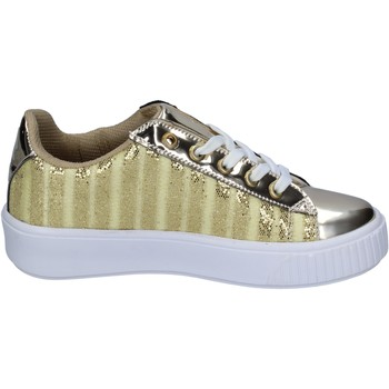 Shoes Women Trainers Lancetti sneakers textile Gold