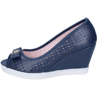 Shoes Women Heels Lancetti courts synthetic leather Blue
