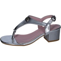 Shoes Women Sandals Lancetti sandals synthetic leather Silver