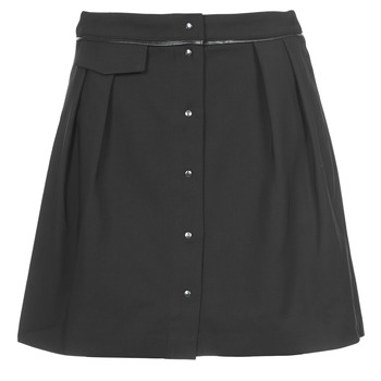 Clothing Women Skirts Naf Naf ELORA Black