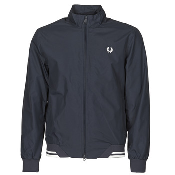 Clothing Men Jackets Fred Perry BRENTHAM JACKET Marine