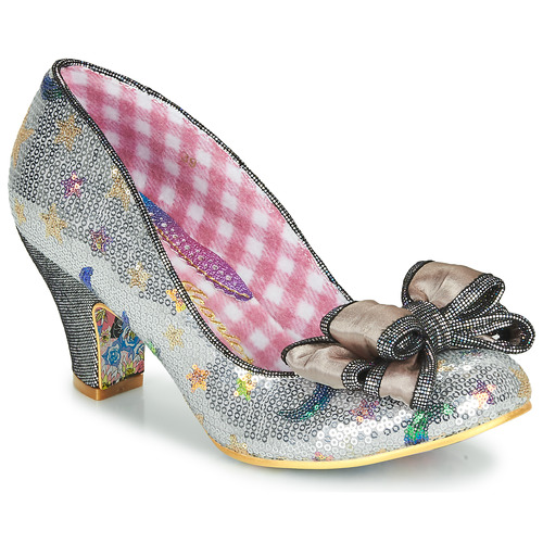 Shoes Women Heels Irregular Choice Ban Joe Silver