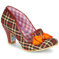 Shoes Women Heels Irregular Choice Kanjanka Burgundy