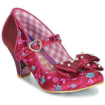 Shoes Women Heels Irregular Choice Snow Drop Bordo