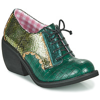 Shoes Women Derby Shoes Irregular Choice Tipple Green