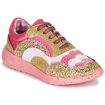 Shoes Women Low top trainers Irregular Choice Jigsaw Pink