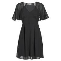 Clothing Women Short Dresses Naf Naf L-CROCUS R1 Black
