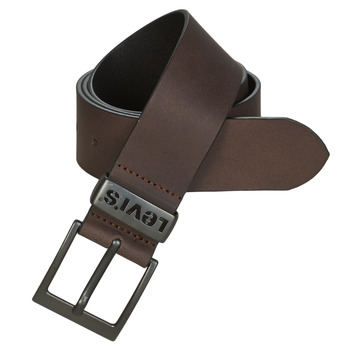 Clothes accessories Men Belts Levi's ASHLAND METAL Brown