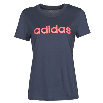 Clothing Women Short-sleeved t-shirts adidas Performance W E LIN SLIM T Ink