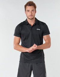 Clothing Men Short-sleeved polo shirts adidas Performance M D2M POLO Black