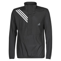 Clothing Men Sweaters adidas Performance OWN THE RUN JKT Black