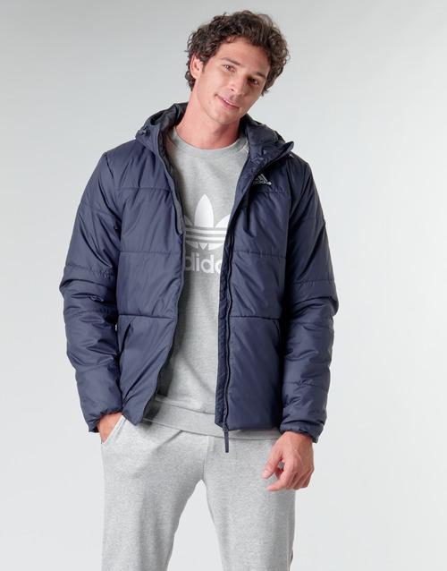Clothing Men Duffel coats adidas Performance BSC HOOD INS J Ink