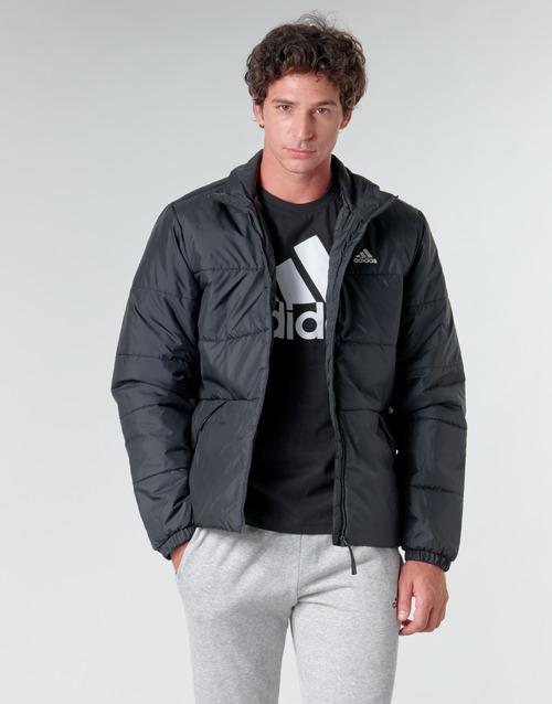Clothing Men Duffel coats adidas Performance BSC 3S INS JKT Black