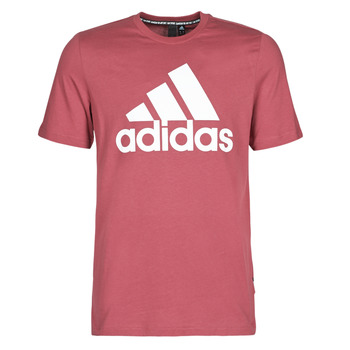 Clothing Men short-sleeved t-shirts adidas Performance MH BOS Tee Red / Heritage