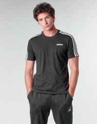 Clothing Men Short-sleeved t-shirts adidas Performance E 3S TEE Black