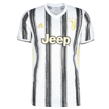 Clothing Short-sleeved t-shirts adidas Performance JUVE H JSY White / Black