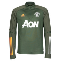 Clothing Long sleeved tee-shirts adidas Performance MUFC TR TOP Kaki