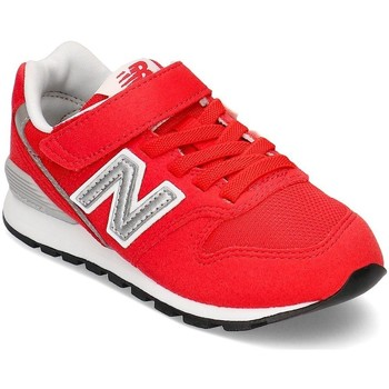 Shoes Children Low top trainers New Balance 996 White,Red