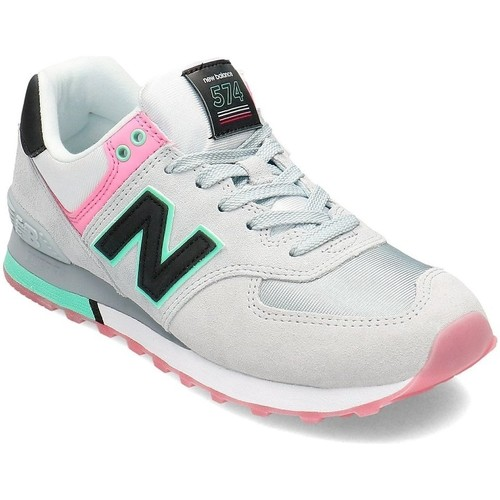 Shoes Women Low top trainers New Balance 574 Black,Grey
