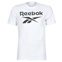 Clothing Men short-sleeved t-shirts Reebok Classic RI BIG LOGO TEE White