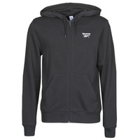 Clothing Men Sweaters Reebok Classic CL F VECTOR FULLZIP Black