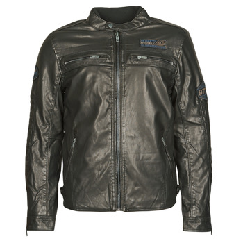 Clothing Men Leather jackets / Imitation leather Petrol Industries JACKET PU Black