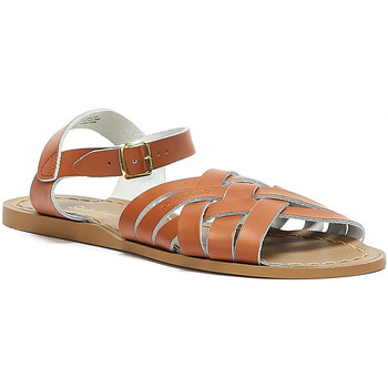 Shoes Women Sandals Salt Water Retro Womens Tan Sandals Tan