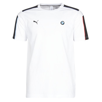 Clothing Men Short-sleeved t-shirts Puma BMW MMS MS T7 TEE White