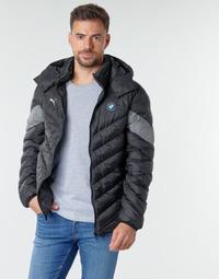 Clothing Men Duffel coats Puma BMW MMS MCS PACKLITE JACKET Black