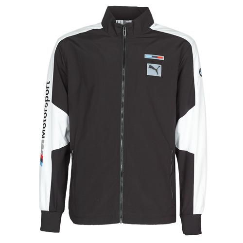 Clothing Men Track tops Puma BMW MMS WVN JACKET F Black / Grey / White