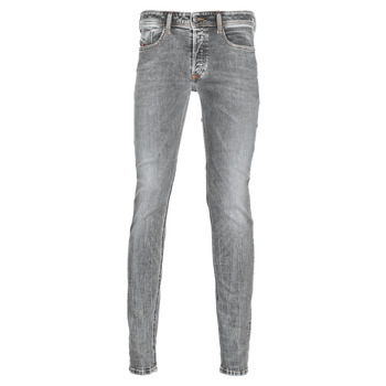 Clothing Men Skinny jeans Diesel SLEENKER Grey