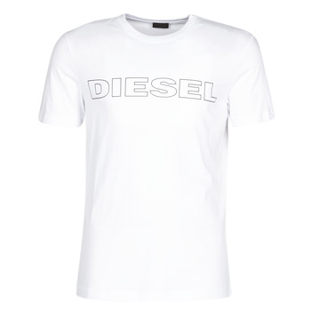 Clothing Men short-sleeved t-shirts Diesel JAKE White