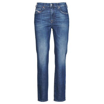 Clothing Women straight jeans Diesel JOY Blue