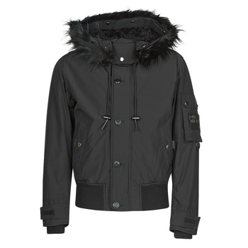 Clothing Men Parkas Diesel W-JAMES Black