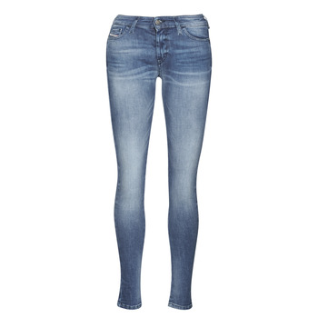 Clothing Women Skinny jeans Diesel SLANDY Blue