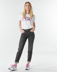 Clothing Women Straight jeans Diesel D-JOY  Grey