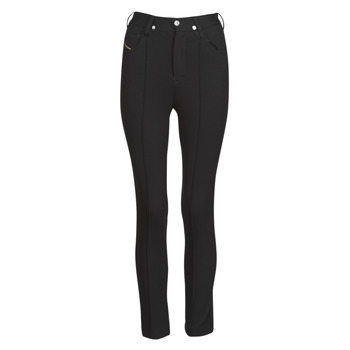 Clothing Women 5-pocket trousers Diesel P-CUPERY Black