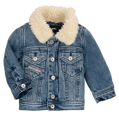 Clothing Children Jackets Diesel JESKI Blue