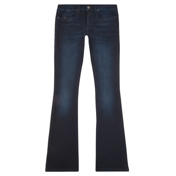Clothing Girl Bootcut jeans Diesel LOWLEEH Blue / Dark