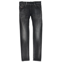 Clothing Boy Skinny jeans Diesel SLEENKER Black