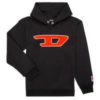 Clothing Children Sweaters Diesel SDIVISION Black