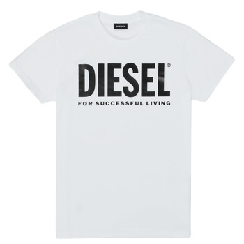 Clothing Children Short-sleeved t-shirts Diesel TJUSTLOGO White