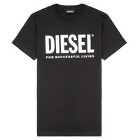 Clothing Children Short-sleeved t-shirts Diesel TJUSTLOGO Black