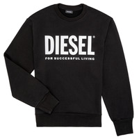 Clothing Boy Sweaters Diesel SCREWDIVISION LOGO Black