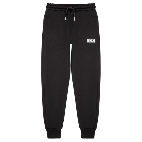 Clothing Boy Tracksuit bottoms Diesel PTARYLOGO TROUSERS Black